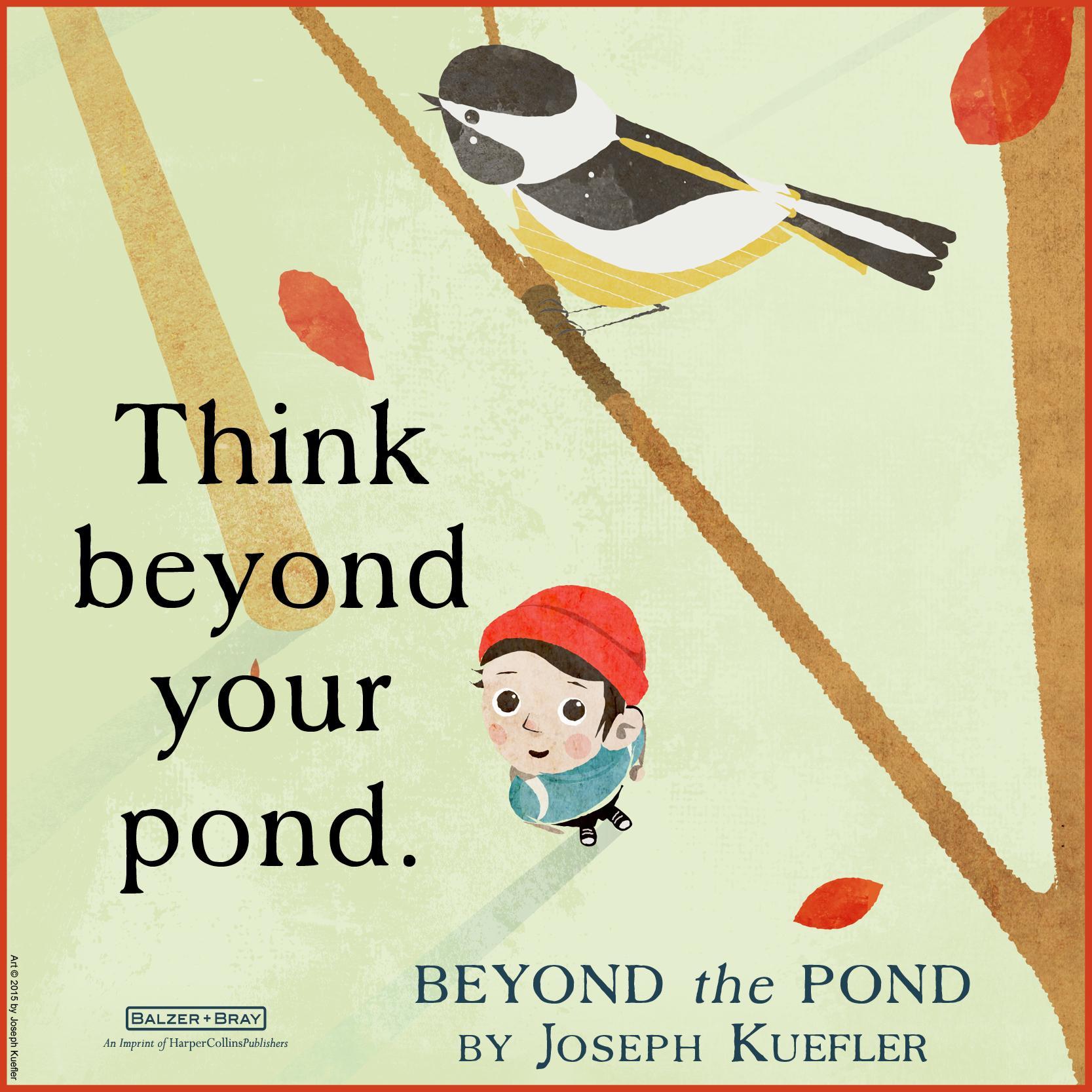 Beyond The Pond: Joseph Kuefler: 9780062364272: Amazon.com