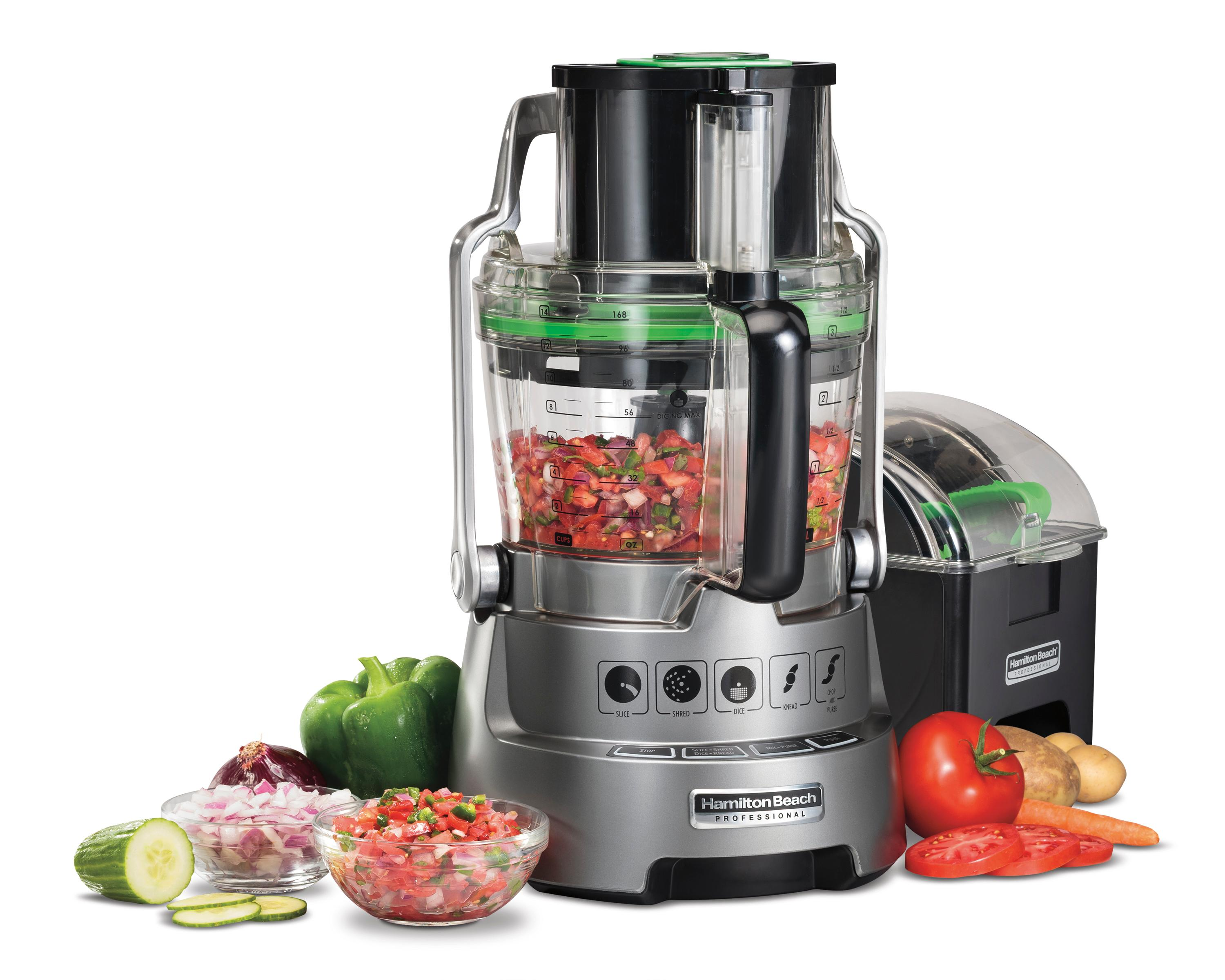 Hamilton Beach Professional 70825c Stack And Snap Dicing