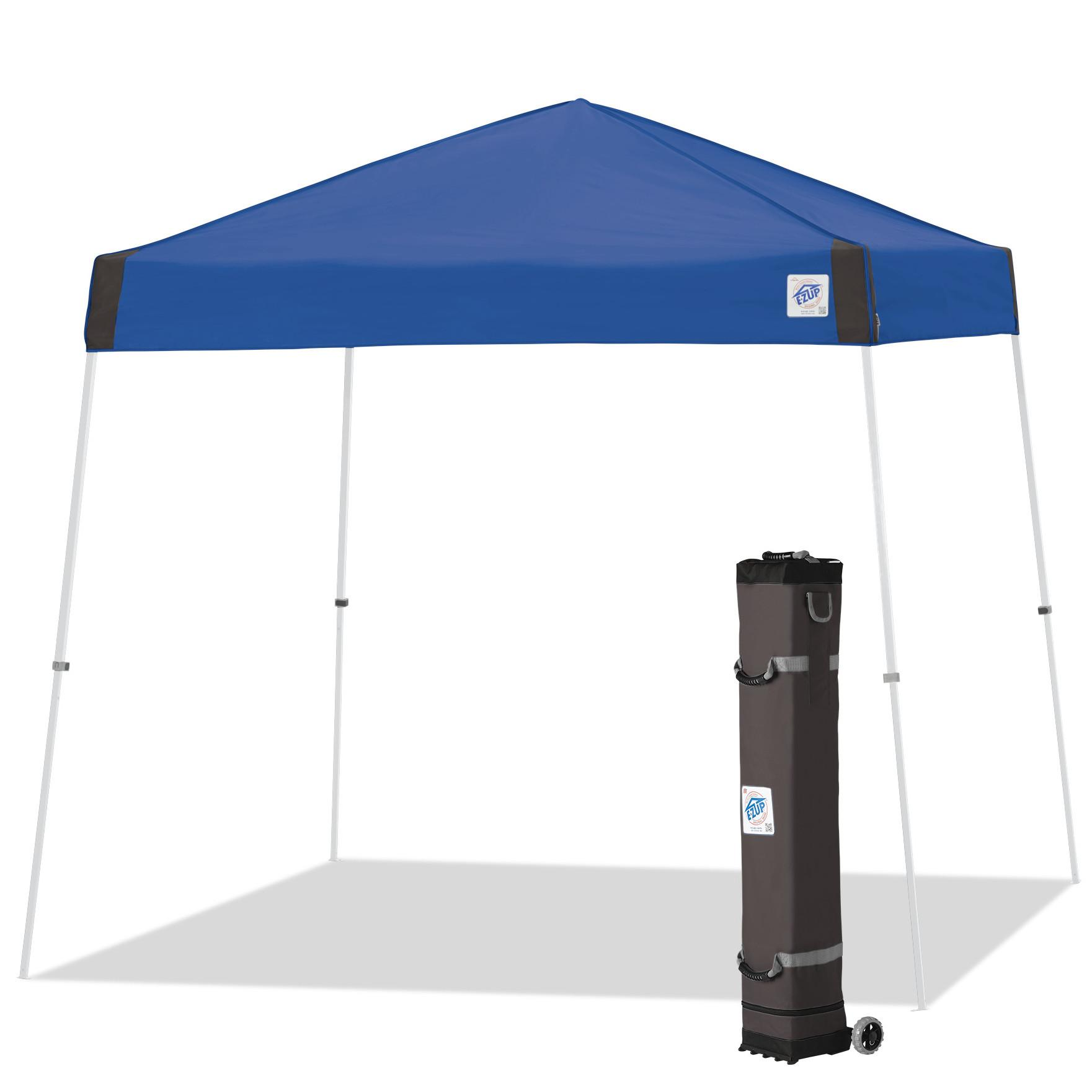newest 07b56 26876 EZ UP Vista Instant Shelter Canopy, 10 x 10-Feet, Steel Orange