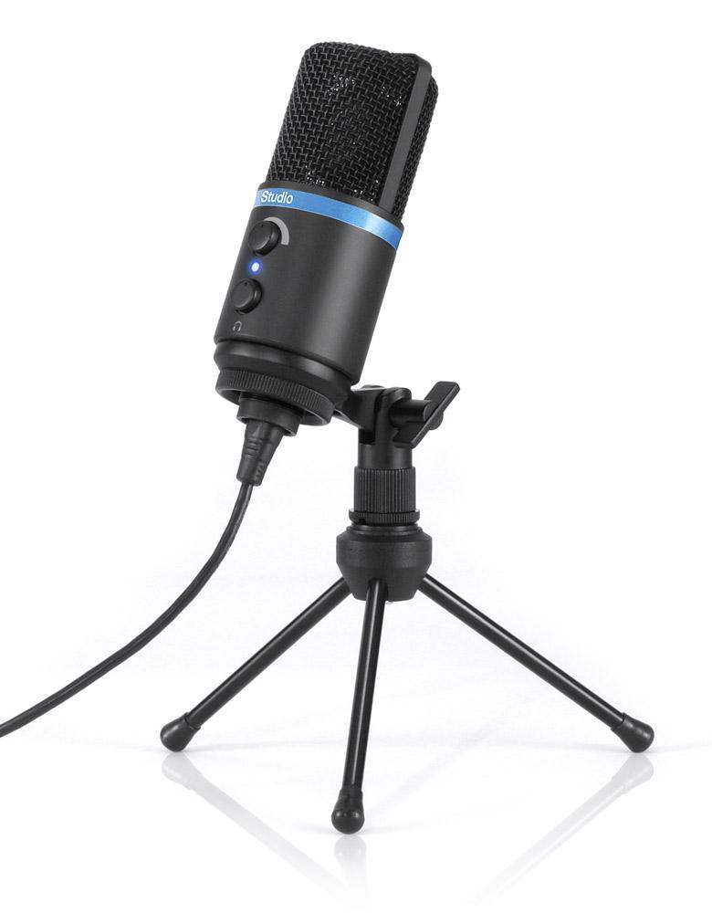 ik multimedia irig mic studio digital studio microphone for iphone ipad android. Black Bedroom Furniture Sets. Home Design Ideas