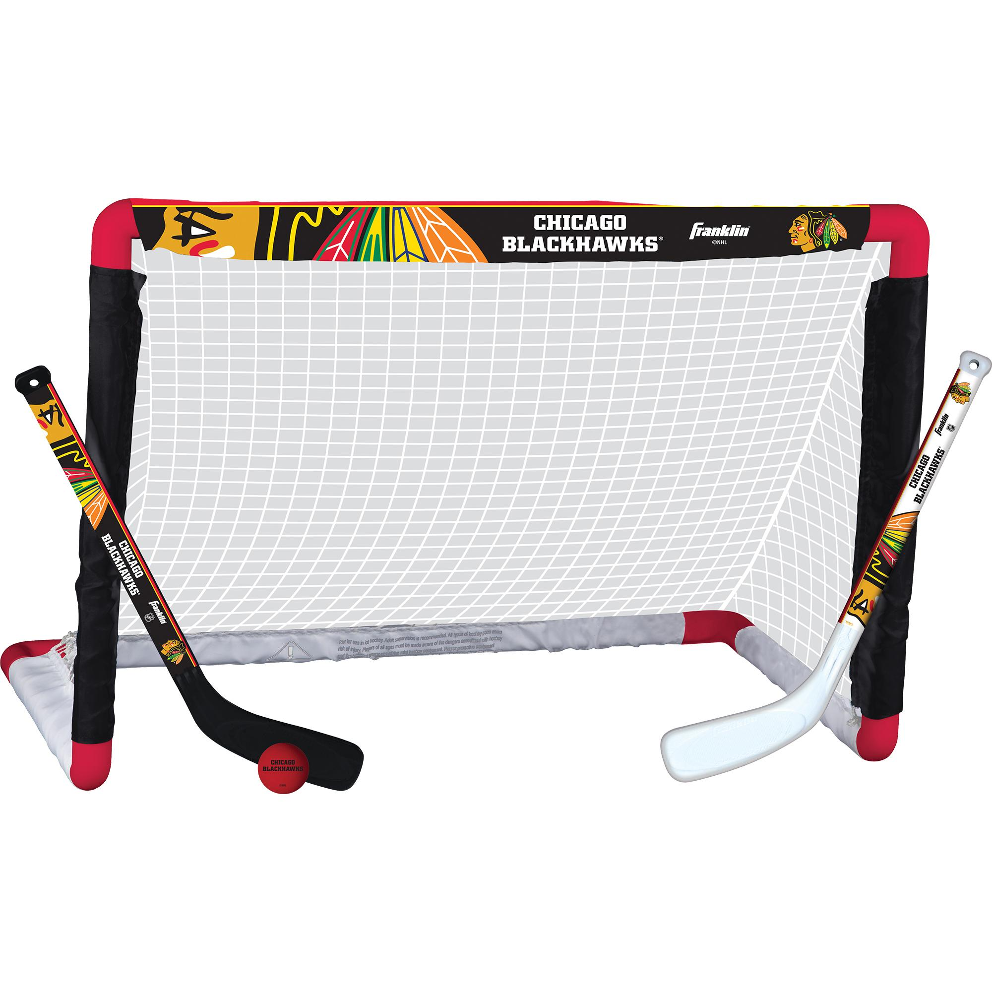 buy online 40722 a8ad0 Franklin Sports NHL Team Mini Hockey Set