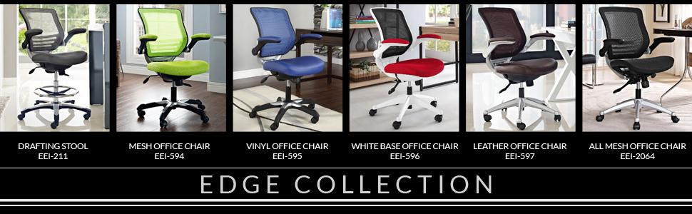 Executive, Aeron, Serta, Drafting, Black, Mesh, Leather, Faux, Hon, AmazonBasics, Office, Chair