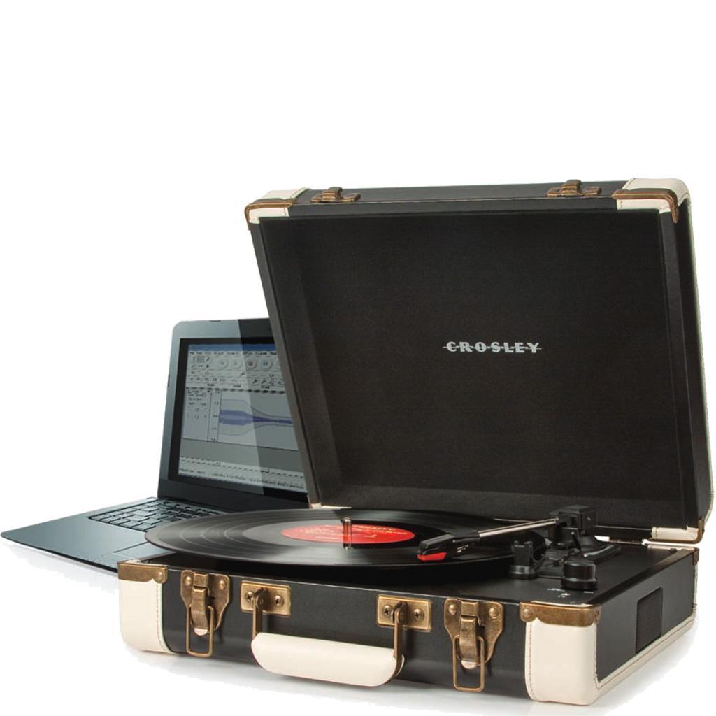 Amazon Com Crosley Cr6019a Bk Executive Portable Usb