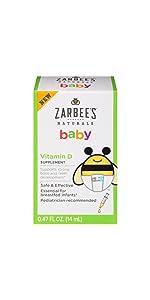 Amazon Com Zarbee S Naturals Baby Vitamin D Supplement 0