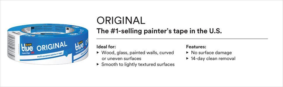 Scotchblue Painter 39 S Tape Multi Use X 45 Yards House Paint Amazon Canada