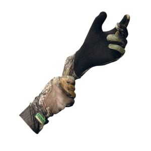Primos Stretch-Fit Gloves with Sure-Grip and Extended Cuff, Mossy Oak New Break-Up: Amazon.ca: Sports & Outdoors