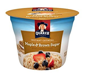 Quaker Instant Oatmeal cup
