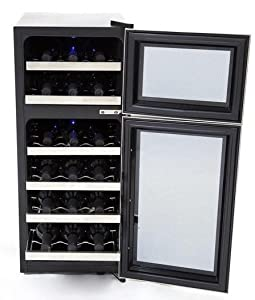 Whynter Wc 321dd 32 Bottle Dual Temperature Zone Wine