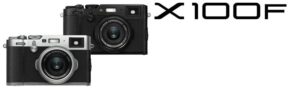 Fujifilm X100F 24 3 MP APS-C Digital Camera-Silver