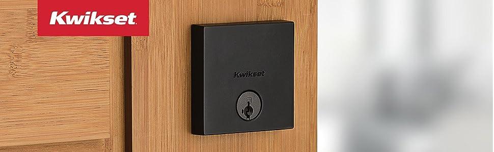 Amazon.com: Cerradura de seguridad de Kwikset cuadrada y ...