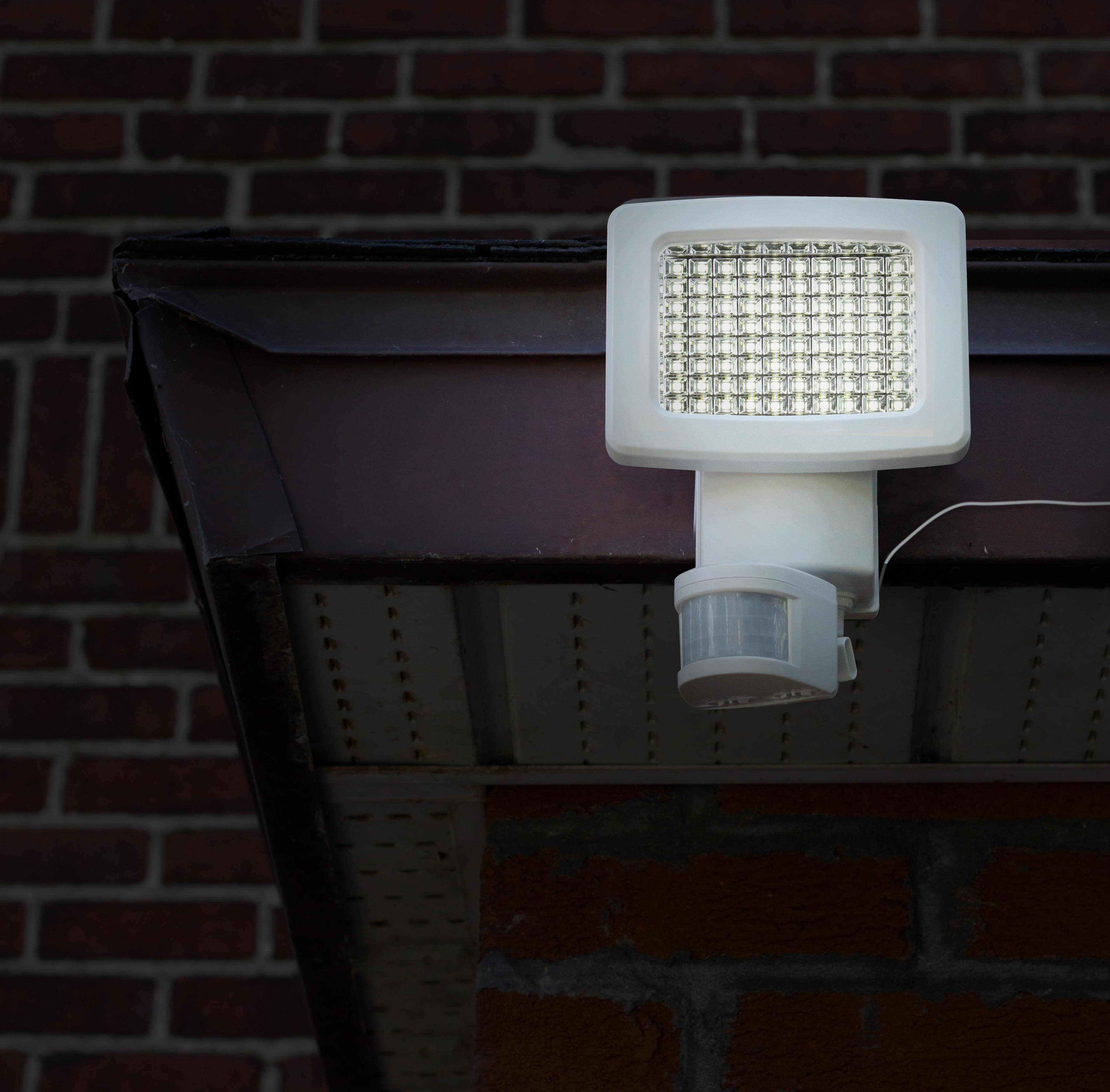 Outdoor Security Lights Costco: Amazon.com: Sunforce 82080 80-LED Solar Motion Light