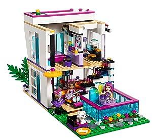 Lego 41135 Friends Livi S Pop Star House Multi Coloured