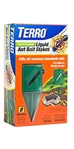 TERRO Outdoor Liquid Ant Killer Bait Stakes