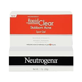 Amazon Com Neutrogena Gel De Tratamiento Para Acne Con Peroxido