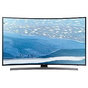 "Samsung KU6600 55"" 6-Series 4K Curved UHD Smart TV (2016 Model)"