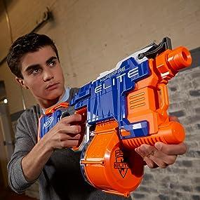 Hasbro NERF B5573 HYPER Fire Blaster N-strike Elite günstig kaufen Armbrust Spielzeug-Bogen, -Armbrust & -Dart