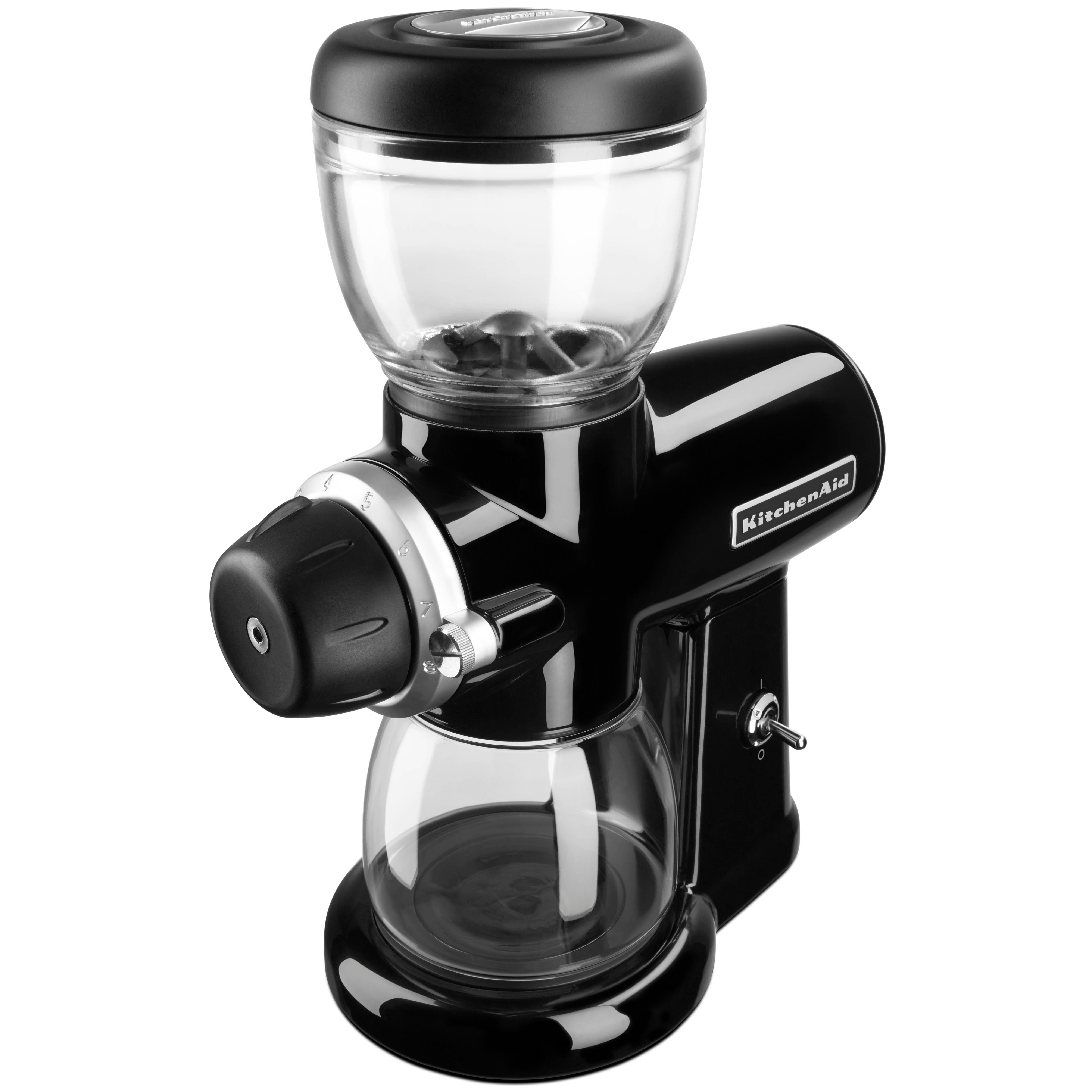Amazon Com Kitchenaid Kcg0702ob Burr Coffee Grinder Onyx