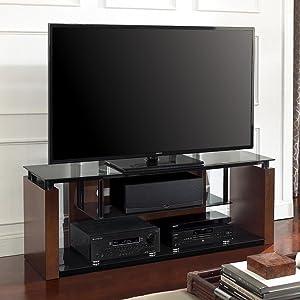 Amazon Com Bell O Avsc2155 60 Tv Stand For Tvs Up To 65 Espresso