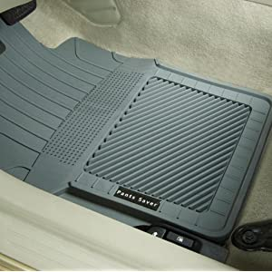 0912052 Custom Fit Car Mat 4PC Gray PantsSaver