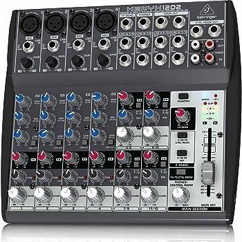 Behringer Xenyx 1202 Mixer, Black 2