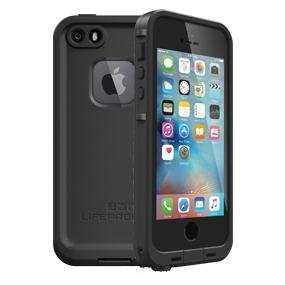 purchase cheap bb326 9031c NEW LifeProof FRĒ SERIES Waterproof Case for iPhone 5/5s/SE - Retail  Packaging - BLACK