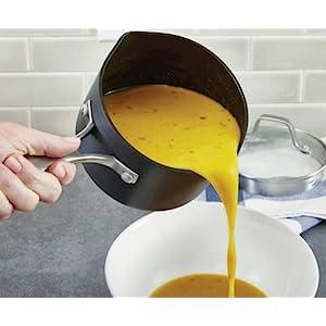 Calphalon Classic Nonstick 1.5-Quart Sauce Pan with Cover - Versatile Sauce Pan