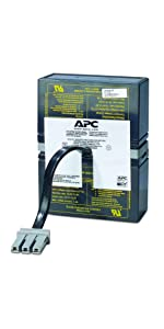 APC Back-UPS RS 800 Black BR800BLK New Compatible Replacement Battery Pack RBC32 by UPSBatteryCenter