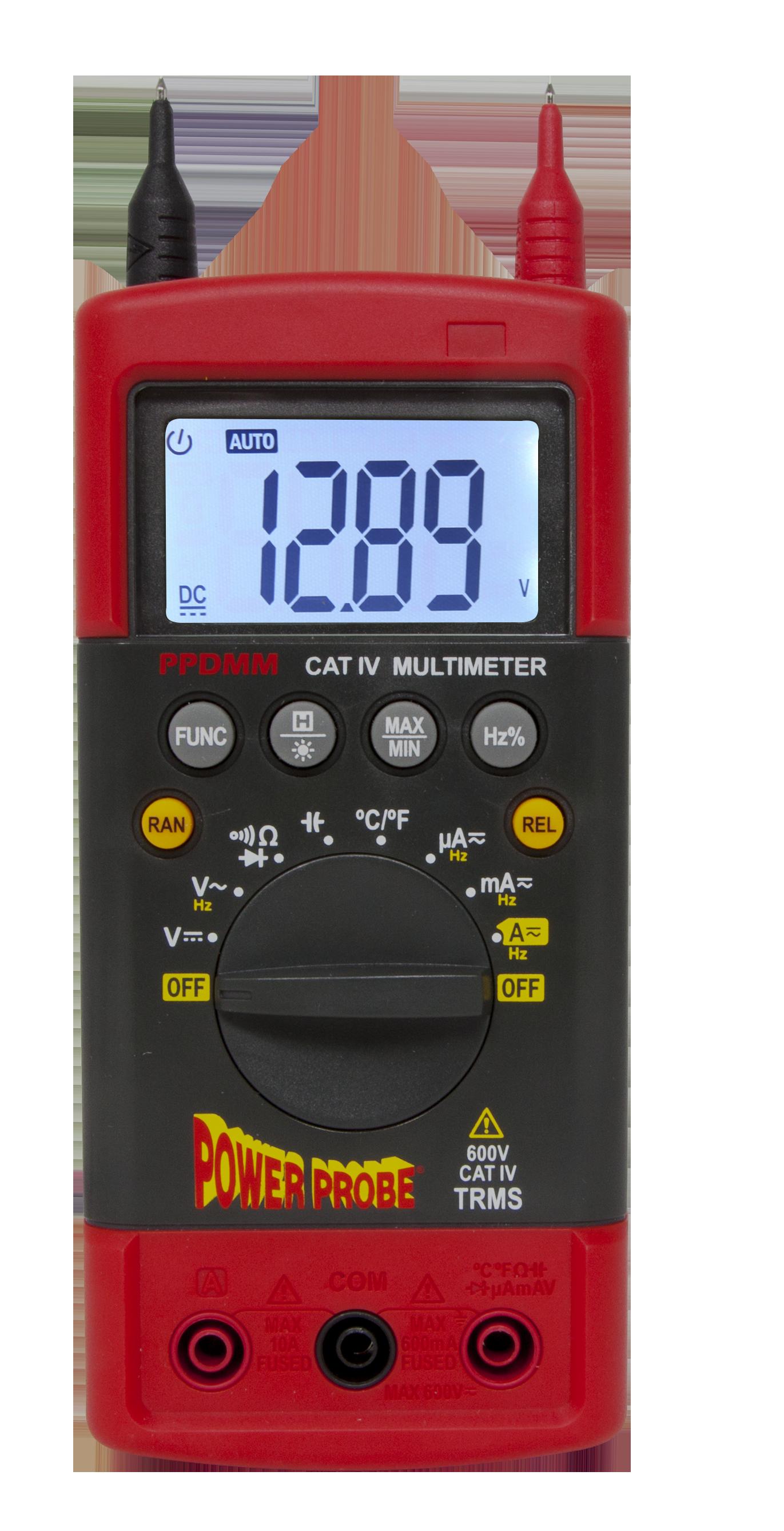 Current Probe For Multimeter : Amazon power probe cat iv digital multimeter ppdmm