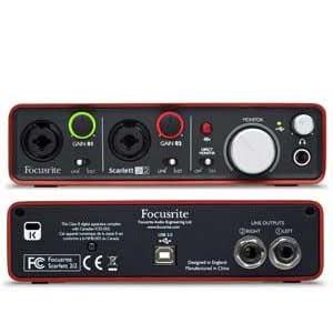 The Scarlett Studio Audio Interface