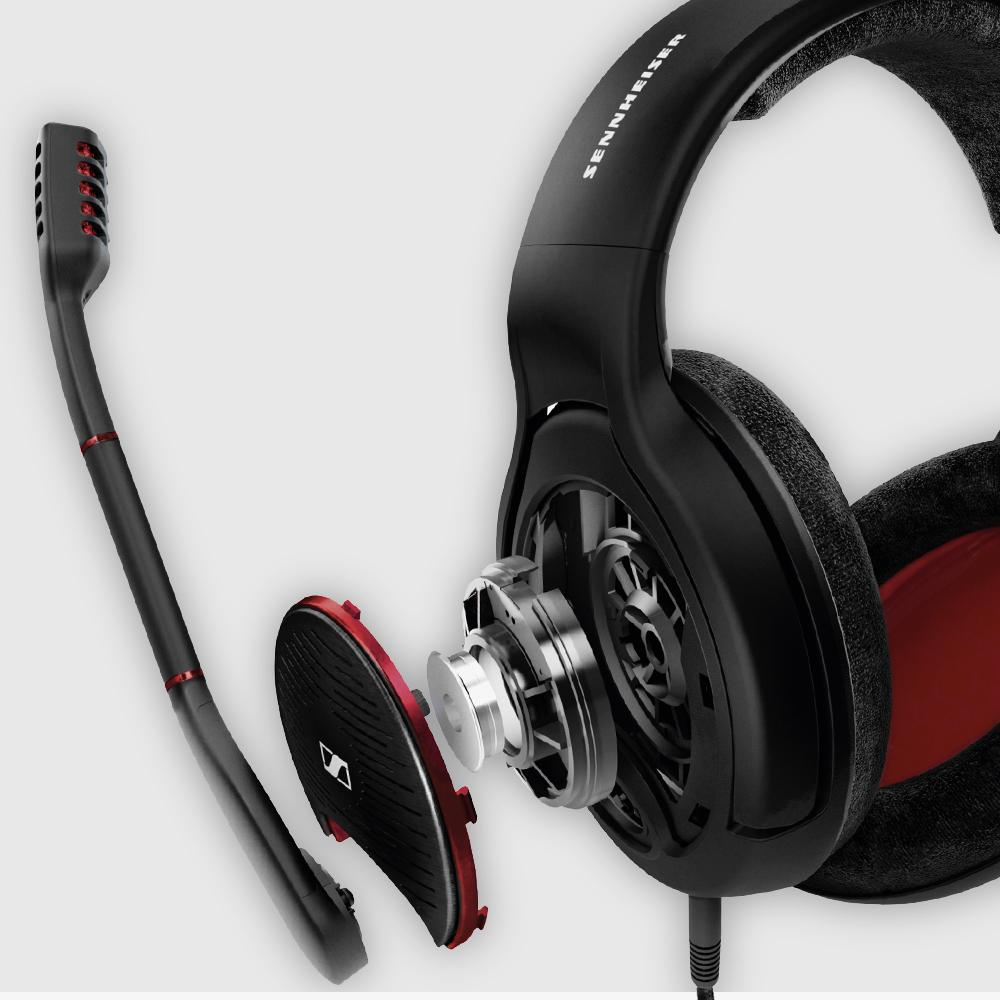 sennheiser g4me one open acoustic pc gaming headset white computers tablets. Black Bedroom Furniture Sets. Home Design Ideas