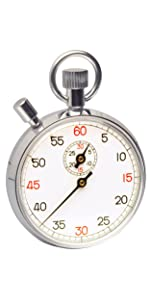 amazon com h b durac analog copper chromium plated stopwatch 15