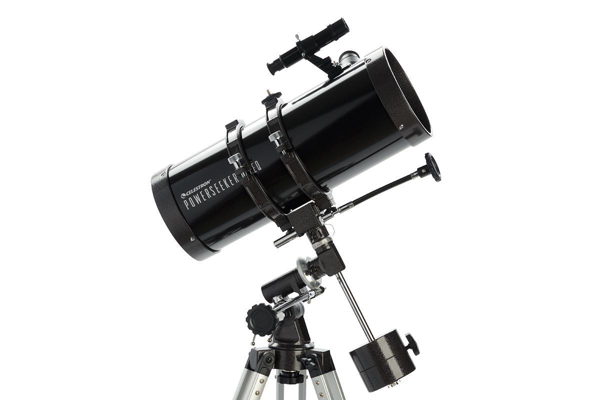 Buy celestron powerseeker 127eq telescope online at low for Astromaster powerseeker motor drive