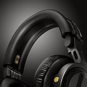 Philips A5Pro professional DJ Headphones - Soft, comfortable headband