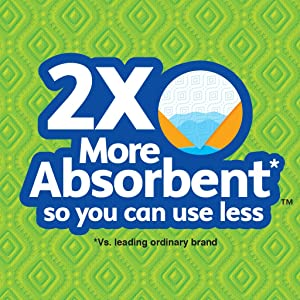 2X more absorbent