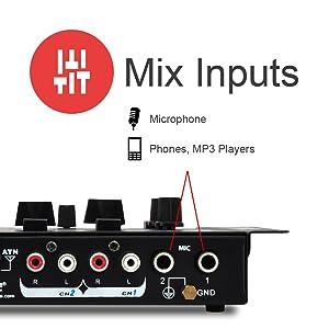 Mix Aux Inputs