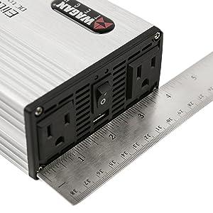 pure sine wave waveform medium middle mid box irregular mod modified inverter invertor adapter power