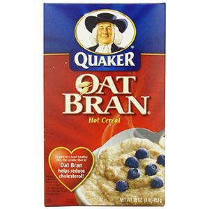 Quaker Oat Bran Hot Cereal