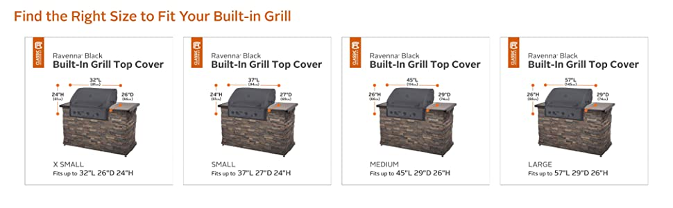 Built-in grill Cover, Grill, Gas Grill, BBQ Grill, Patio, Cover, Cover Fit, Grill Accessories