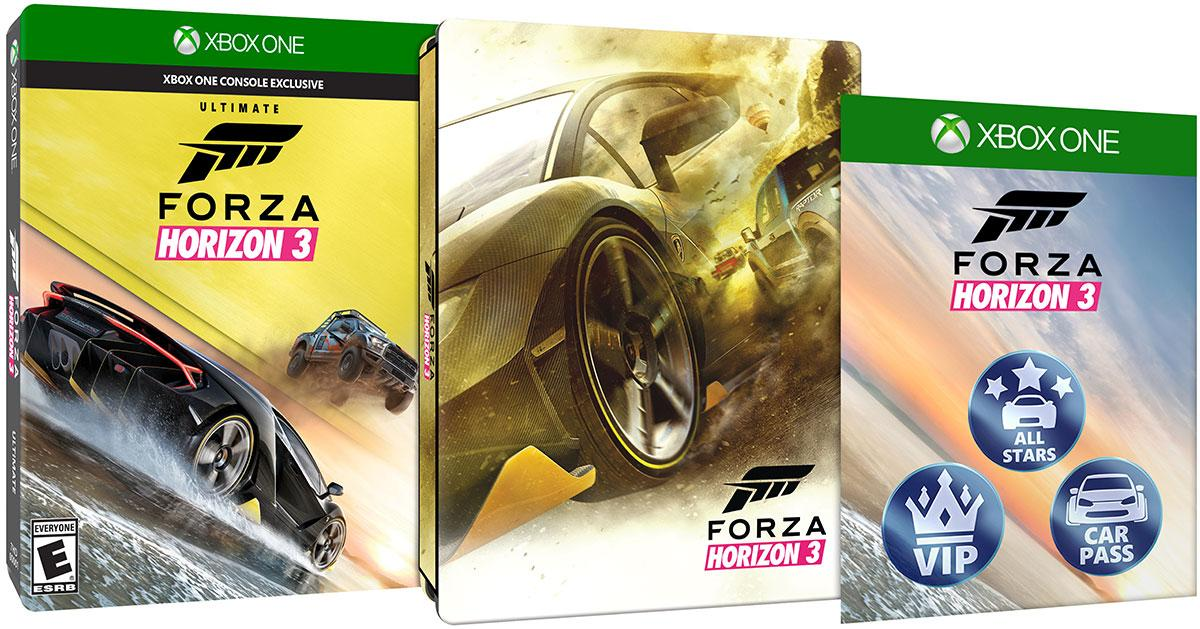 Amazon com: Forza Horizon 3 - Ultimate Edition - Xbox One