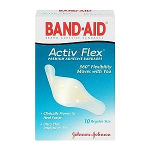 BAND-AID Brand BLISTER GEL GUARD ACTIV-FLEX Bandages