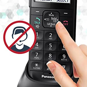 Panasonic KX-TGL433B Easy Call Block