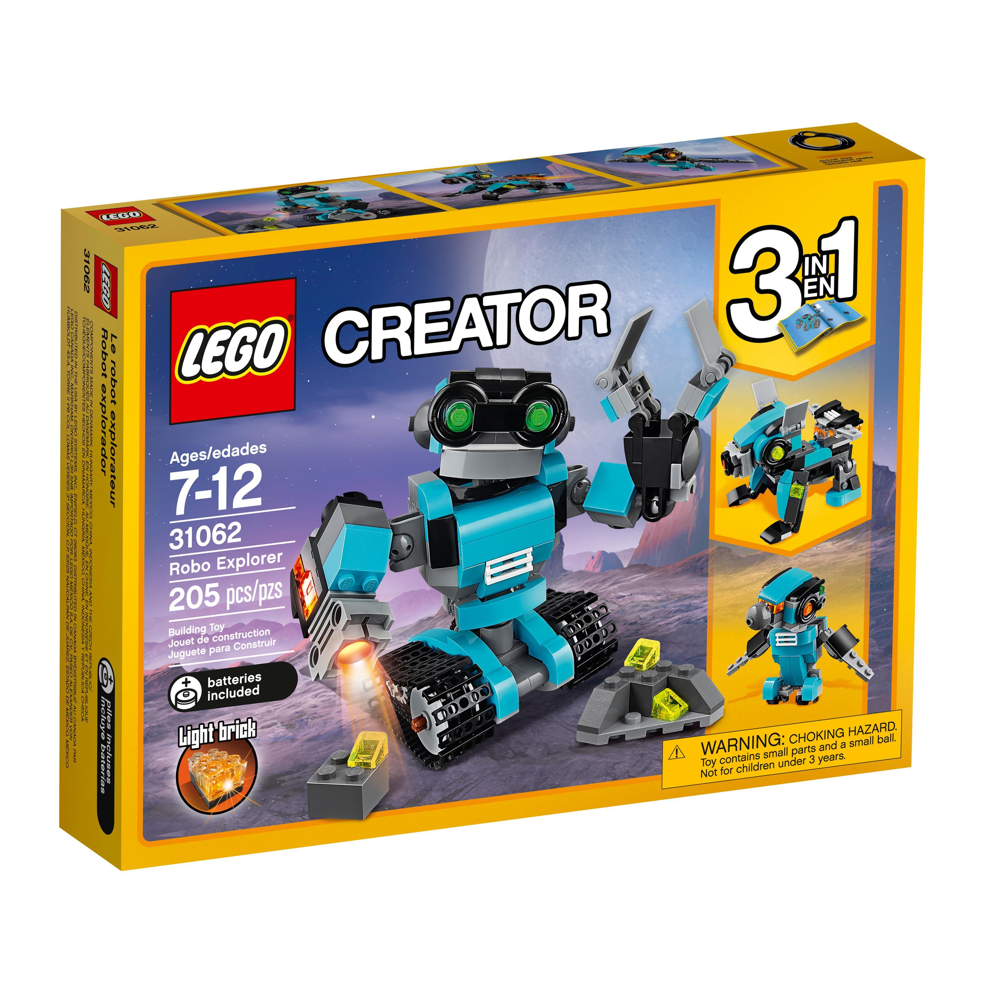 lego creator robo explorer 31062 robot toy building sets. Black Bedroom Furniture Sets. Home Design Ideas