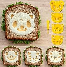 animal bento Sandwich cutter