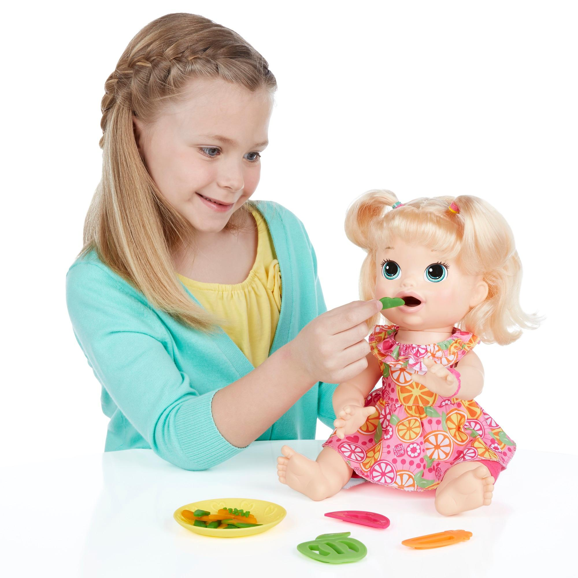 Buy Baby Alive Super Snacks Snackin Sara Blond line at Low Prices
