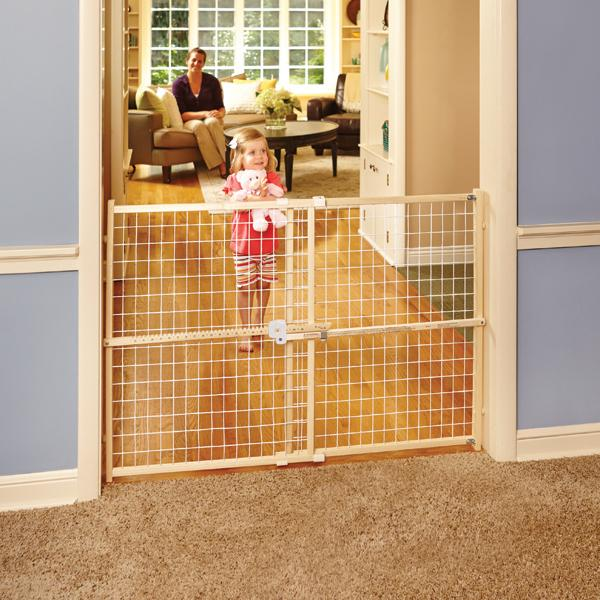 Extra Wide Baby Gate, Safety Baby Gate, Long Baby Gates, Pressure Mounted  Baby