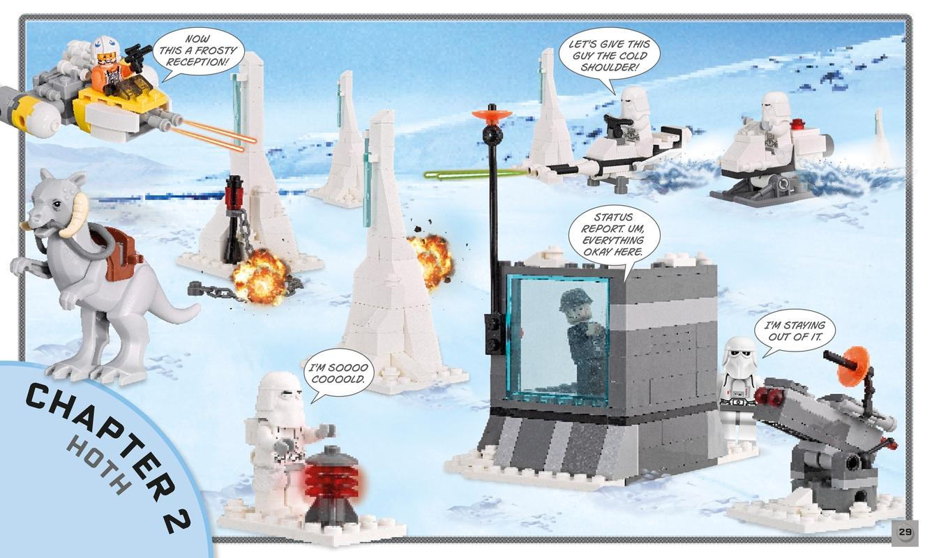 LEGO Star Wars: Build Your Own Adventure: With a Rebel Pilot ...
