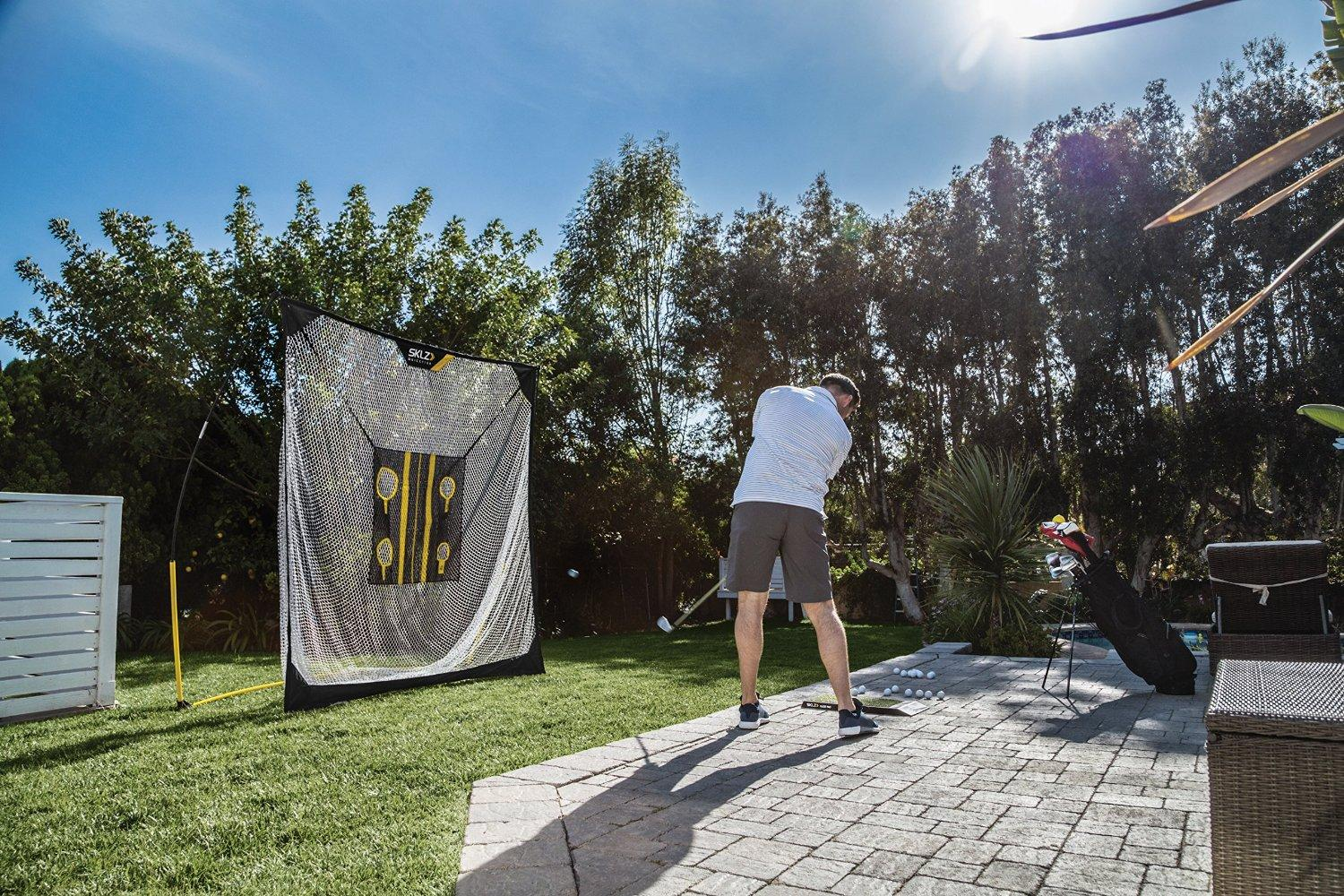 Amazon.com : SKLZ Quickster Golf Net 6 X 6ft with Chipping ...