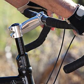 Delta Stem Raiser Pro Simply raise your bicycle handlebars by up to 4.6 inches