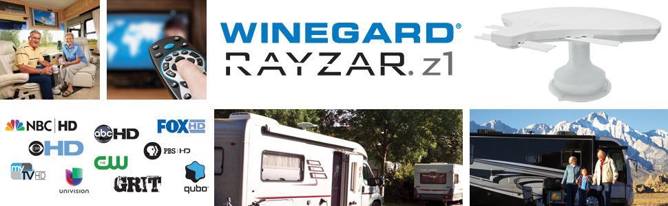 Winegard Rayzar z1 HDTV RV Antenna