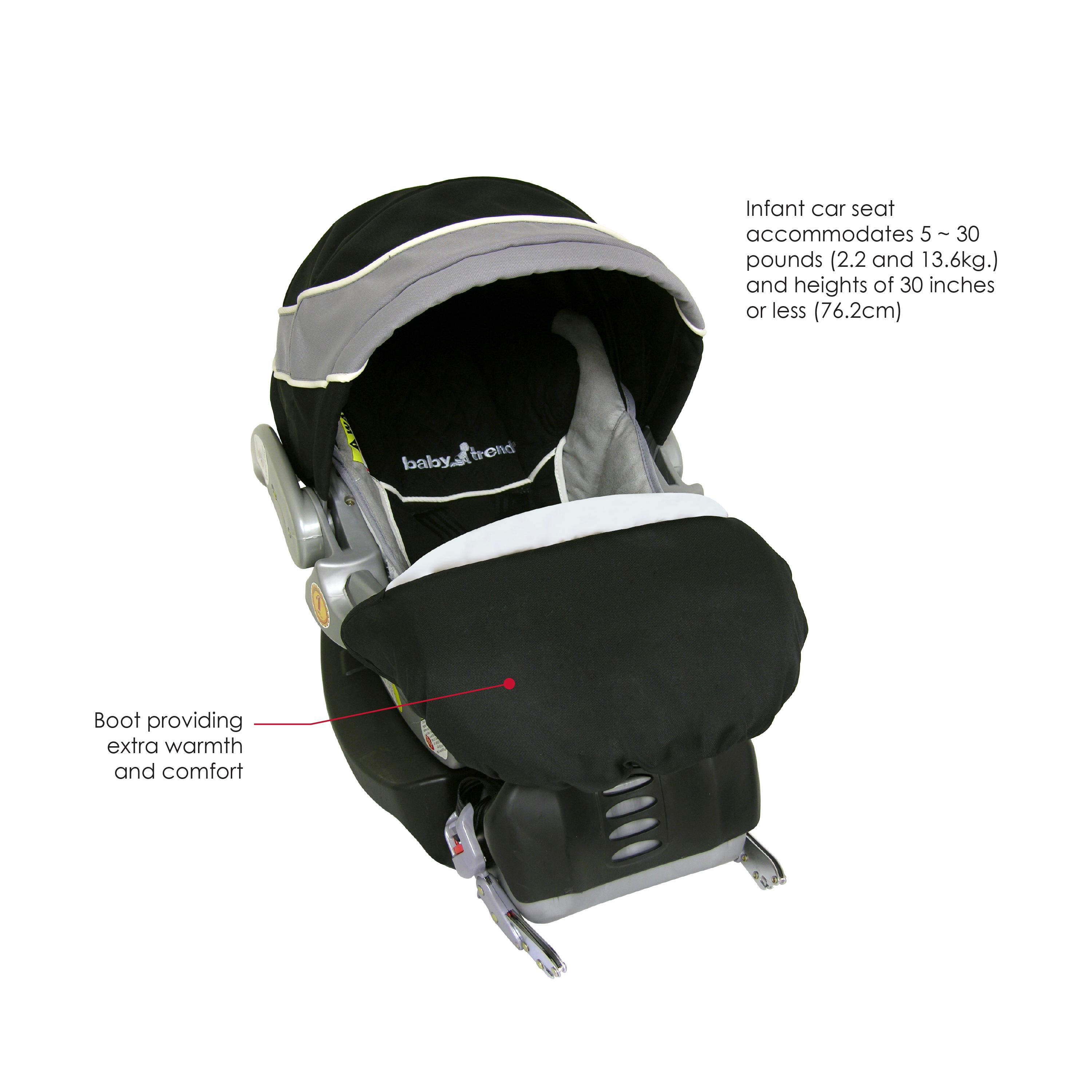 How To Adjust Baby Trend Car Seat Base